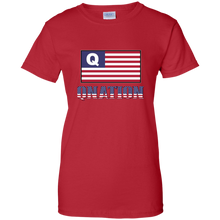 Load image into Gallery viewer, Red Qnation Q/Qanon T-shirt