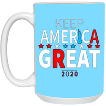 Load image into Gallery viewer, Light Blue Trump - Keep America Great Mug
