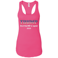 Load image into Gallery viewer, Pink Trump Elect That MF'er Again Women's Tank Top