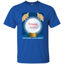 Load image into Gallery viewer, Royal Blue Trump 2020 The Future Looks Bright T-shirt
