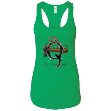 Load image into Gallery viewer, Qanon Be The Hammer Women's Racerback Tank
