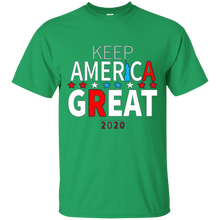 Load image into Gallery viewer, Green Trump - Keep America Great T-shirt