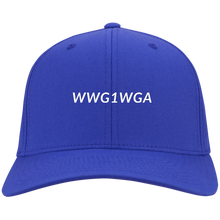 Load image into Gallery viewer, Qanon WWG1WGA Twill Cap