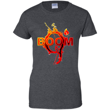 Load image into Gallery viewer, Charcoal Grey Qanon Q Boom T-shirt