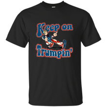 Load image into Gallery viewer, Black Trump Keep On Trumpin Kids T-shirt