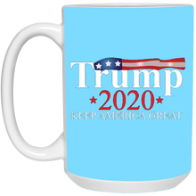 Load image into Gallery viewer, Turquoise Trump 2020 Keep America Great Mug