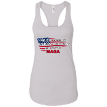 Load image into Gallery viewer, White Trump - No Collusion No Obstruction No Sh*t MAGA Tank Top