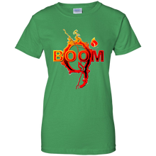 Load image into Gallery viewer, Green Qanon Q Boom T-shirt