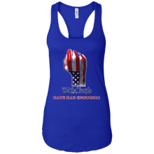 Load image into Gallery viewer, Royal Blue We The People Women's Tank Top