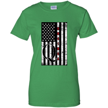 Load image into Gallery viewer, Green Qanon WWG1WGA Flag Women's T-shirt