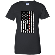 Load image into Gallery viewer, Black Qanon WWG1WGA Flag Women's T-shirt