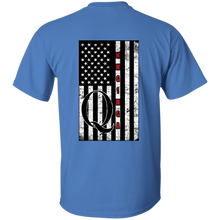 Load image into Gallery viewer, Blue Qanon WWG1WGA Flag Men's T-shirt