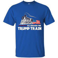 Load image into Gallery viewer, Trump All Aboard The Trump Train Men's T-shirt