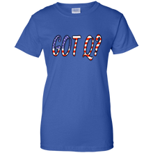 Load image into Gallery viewer, Royal Blue Got Q American Flag Q/Qanon T-shirt