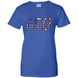 Royal Blue Got Q American Flag Q/Qanon T-shirt
