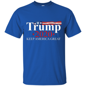 Royal Blue Trump 2020 Keep America Great T-shirt
