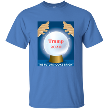 Load image into Gallery viewer, Blue Trump 2020 The Future Looks Bright T-shirt