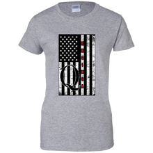 Load image into Gallery viewer, Grey Qanon WWG1WGA Flag Women's T-shirt