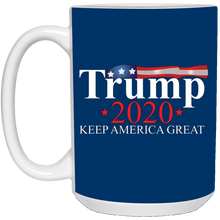 Load image into Gallery viewer, Royal Blue Trump 2020 Keep America Great Mug