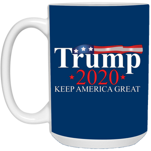 Royal Blue Trump 2020 Keep America Great Mug