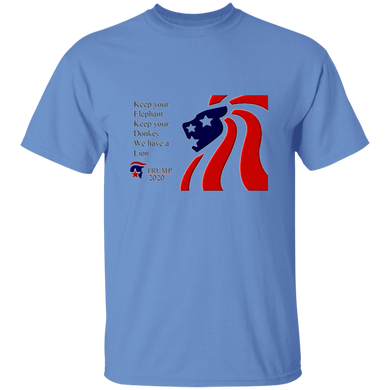 Trump 2020 - We Have A Lion Men's T-Shirt