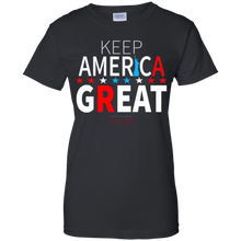 Load image into Gallery viewer, Black Trump - Keep America Great T-shirt