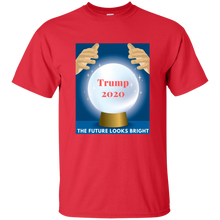 Load image into Gallery viewer, Red Trump 2020 The Future Looks Bright T-shirt