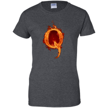 Load image into Gallery viewer, Qanon Q On Fire Women's T-Shirt