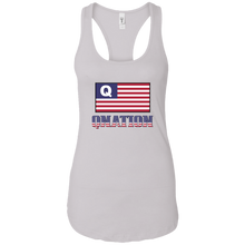 Load image into Gallery viewer, White Qnation Q/Qanon Tank Top