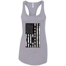 Load image into Gallery viewer, Grey Qanon WWG1WGA Flag Women's Tank Top