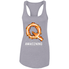 Load image into Gallery viewer, Qanon The Great Awakening Women's Racerback Tank