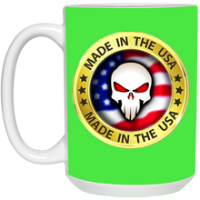 Load image into Gallery viewer, Green Joe M Logo Qanon Mug