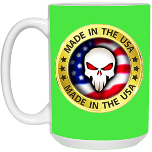 Green Joe M Logo Qanon Mug