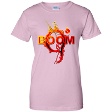 Load image into Gallery viewer, Light Pink Qanon Q Boom T-shirt