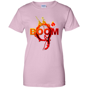 Light Pink Qanon Q Boom T-shirt