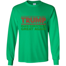 Load image into Gallery viewer, Trump Make Christmas Great Again Men's Long Sleeve Shirt