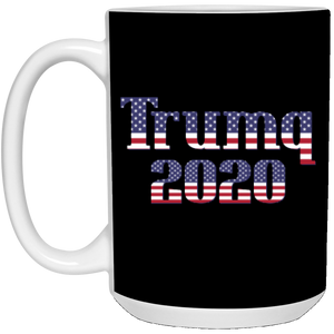 Black Trumq 2020 Ceramic Mug