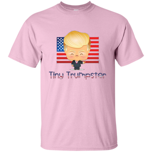 Light Pink Trump Tiny Trumpster Kids T-shirt