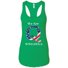 Load image into Gallery viewer, Green We Are Q WWG1WGA Tank Top