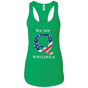 Green We Are Q WWG1WGA Tank Top