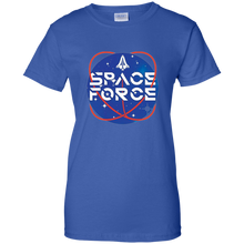 Load image into Gallery viewer, Blue Trump Space Force T-shirt
