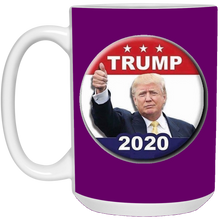 Load image into Gallery viewer, Purple Trump 2020 Ceramic Mug