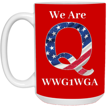 Load image into Gallery viewer, Red We Are Q WWG1WGA Mug