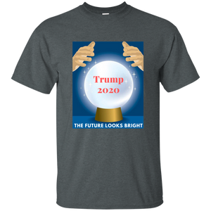 Charcoal Grey Trump 2020 The Future Looks Bright T-shirt
