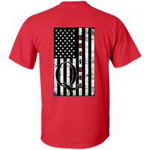 Load image into Gallery viewer, Red Qanon WWG1WGA Flag Men's T-shirt