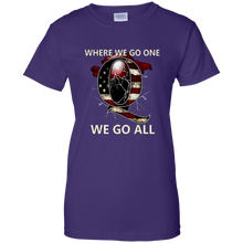 Load image into Gallery viewer, Purple Q WWG1WGA Q/Qanon T-shirt