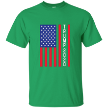 Load image into Gallery viewer, Green Trump 2020 Flag Men's T-shirt