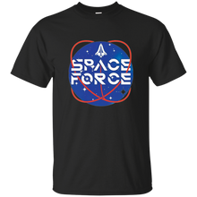 Load image into Gallery viewer, Black Trump Space Force T-shirt