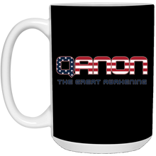 Load image into Gallery viewer, Black Qanon The Great Awakening Mug