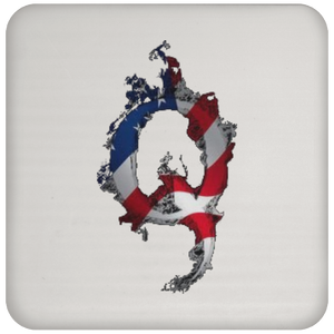 Patriotic Apparel & Accessories Qanon/Q Coaster